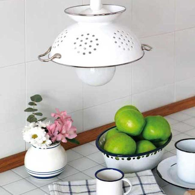 pendant light in the kitchen