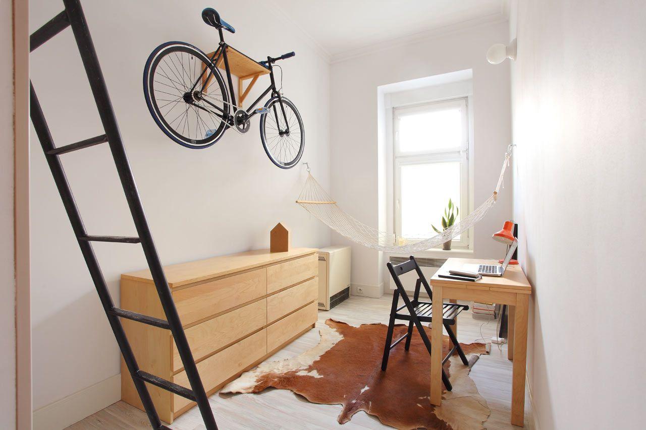 Super Efficient 140 Square Foot Urban Apartment