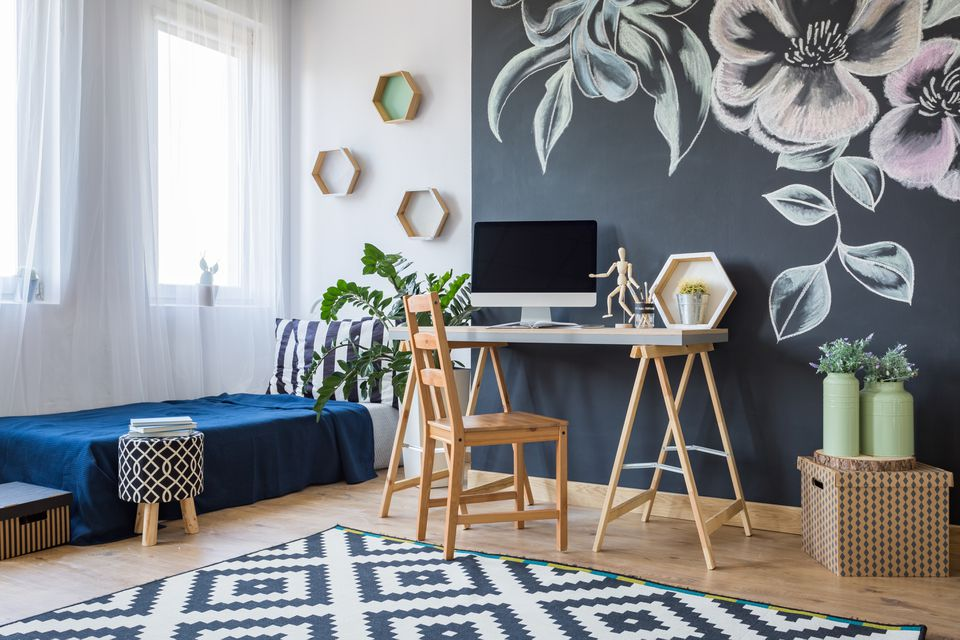 Modern designed bedroom