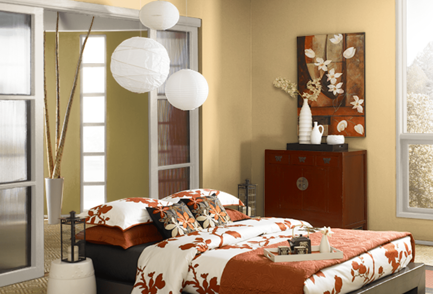 Color Copycat How To Decorate A Mid Century Modern Room