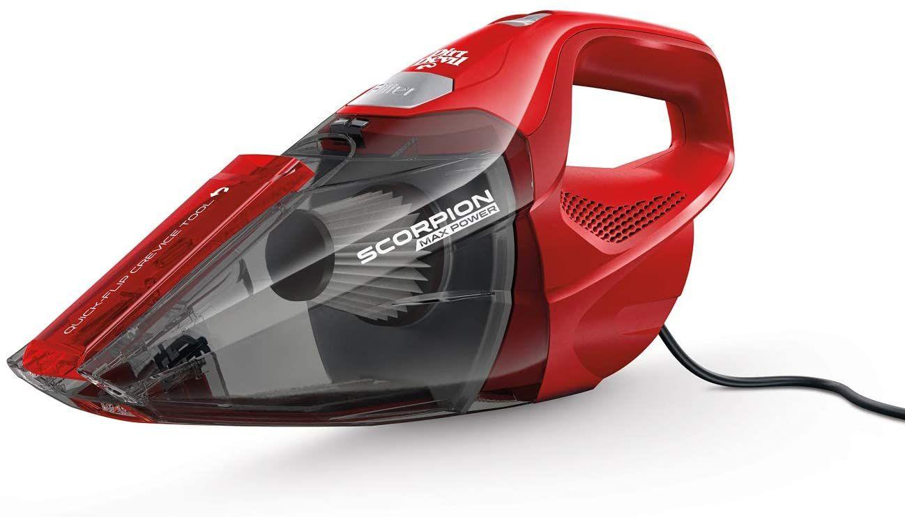 Dirt Devil Scorpion Quick Flip Corded Bagless Handheld Vacuum