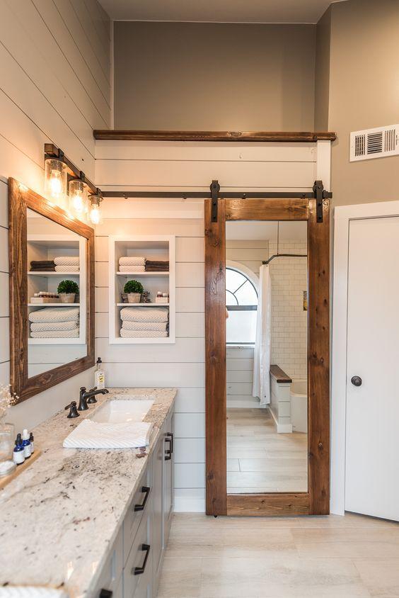60 Ways To Decorate With Barn Doors Unique Barn Door Patterns