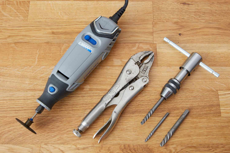 Screw extractor tools