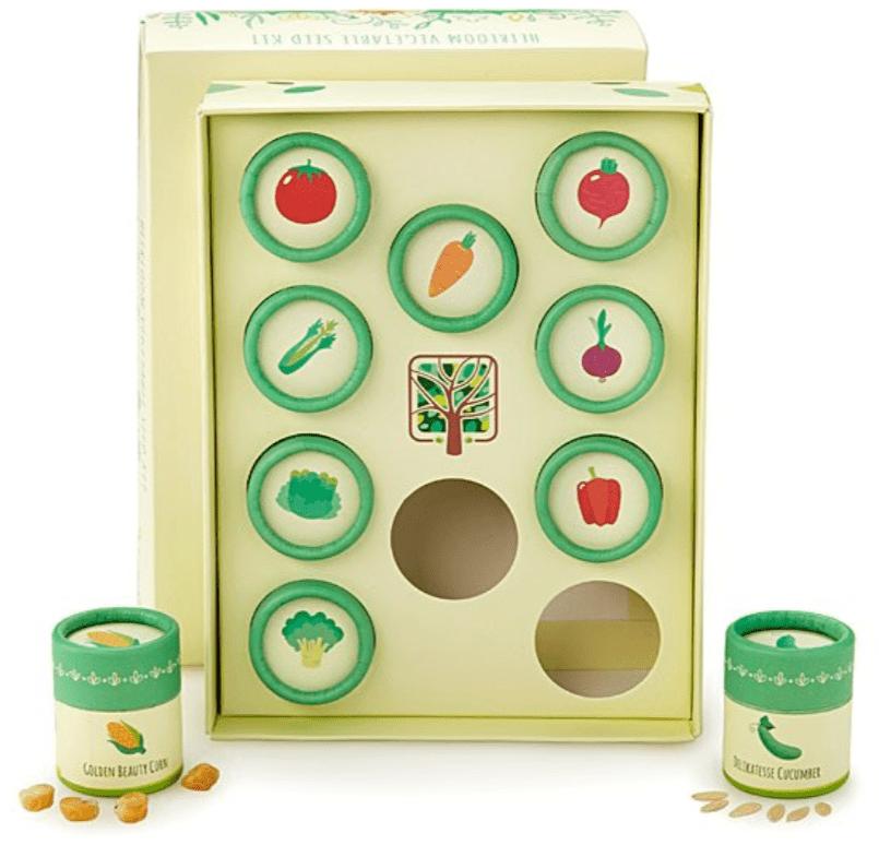 Heirloom Veggie Seed Kit