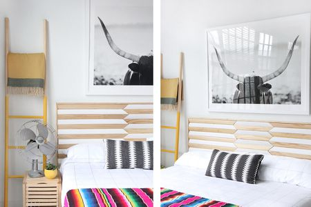 25 Diy Headboards You Can Make In A Weekend Or Less