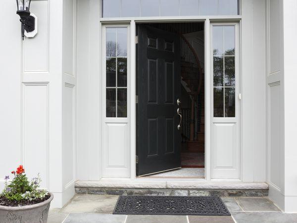 Exterior Door With Bottom Sweep