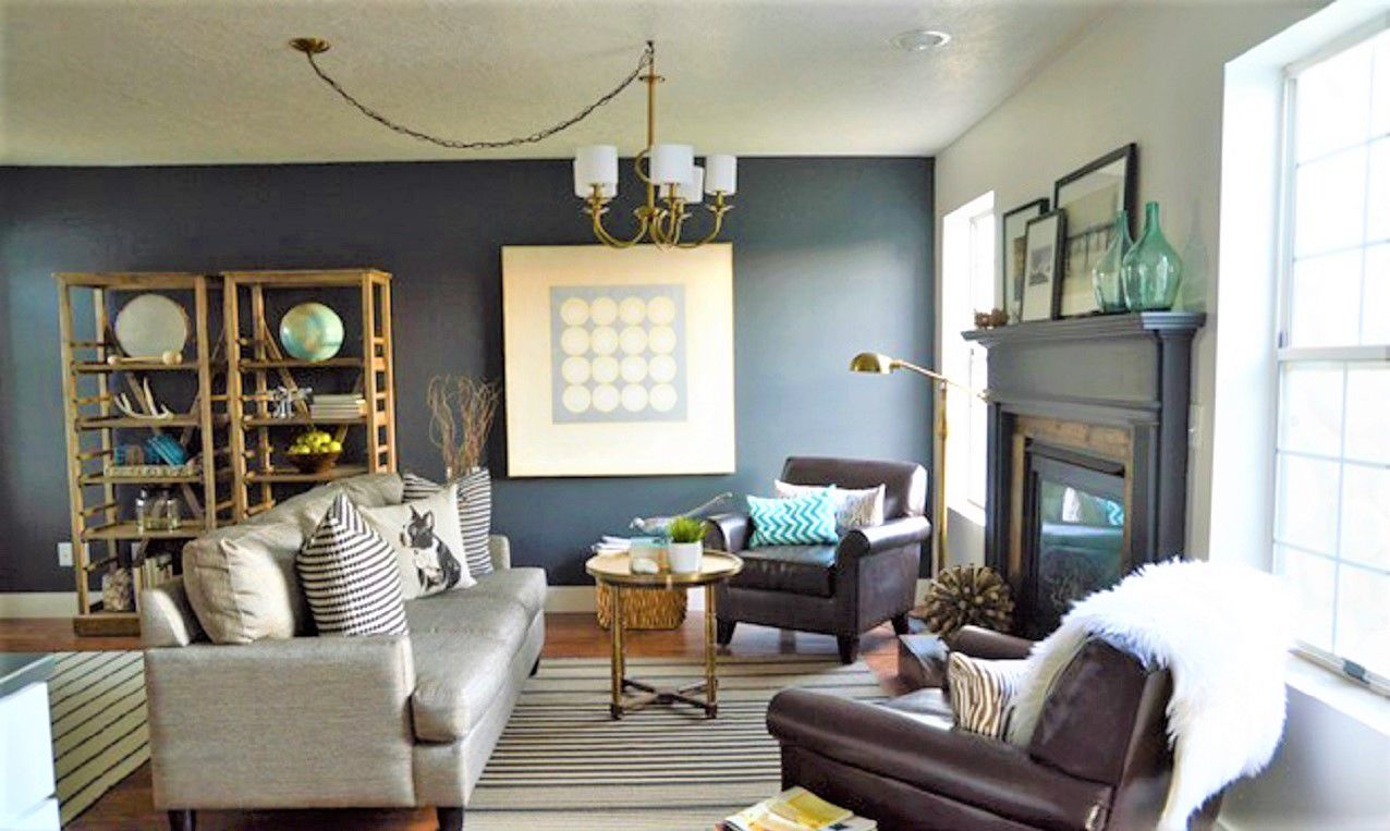 10 Incredible Before And After Living Room Makeovers