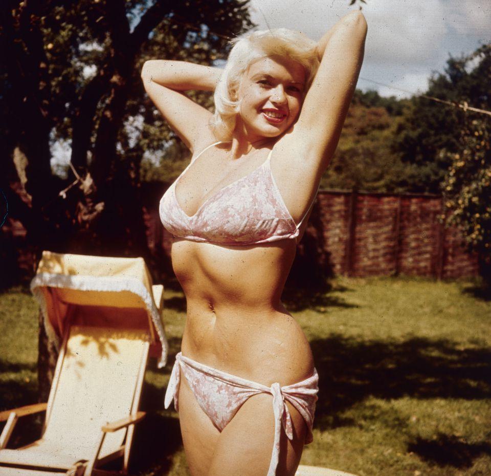 jayne mansfield bikini