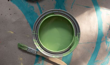 The Spruce Best Home Chalky Finish Paint in Retro Vibes