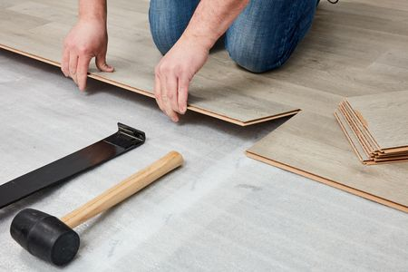 Laminate Underlayment Installation Basics, Do You Need Underlayment For Laminate Flooring Over Tile