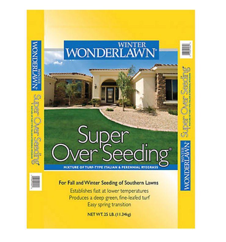 Winter Wonderlawn Super Over Seeding