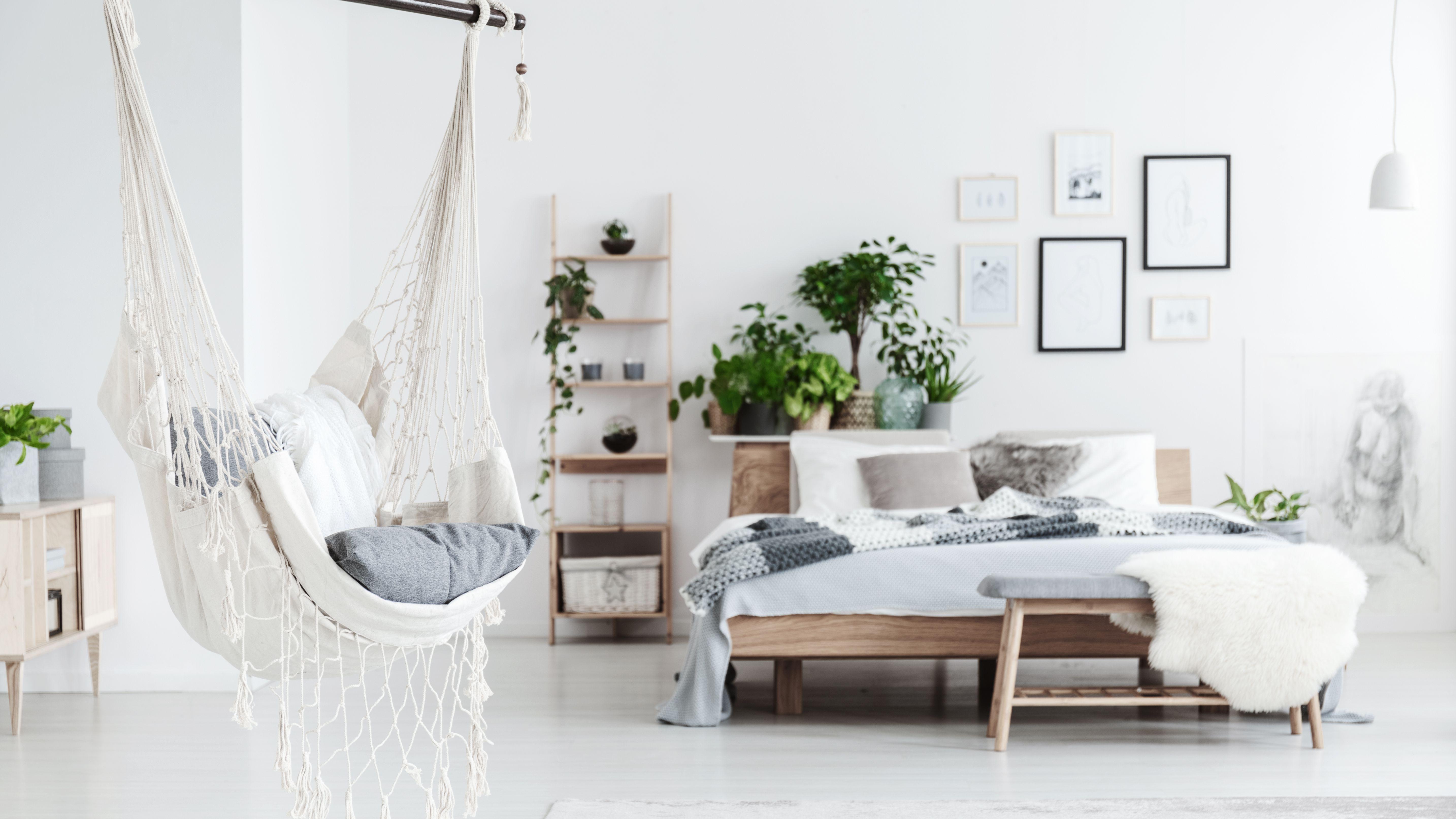 Ideas For Decorating With Indoor Hammocks, Living Room Hammock