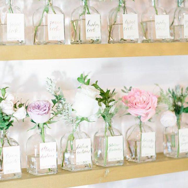 Flower escort jars