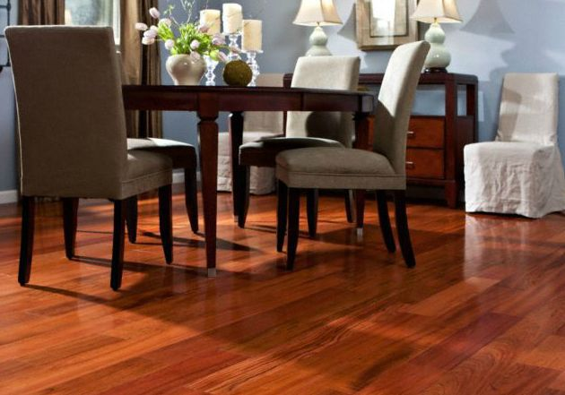 Prefinished Engineered Wood Brazilian Cherry Flooring