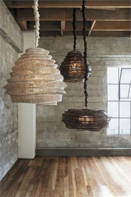 Bamboo Cloud Chandelier Collection Modish