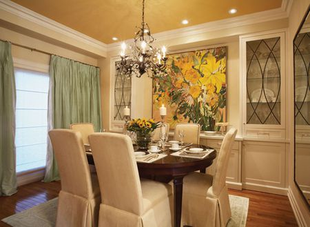 Different Dining Room Ceiling Color