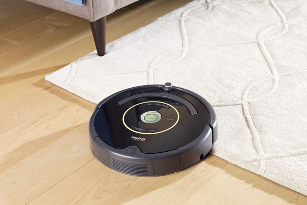 Roomba on a carpet