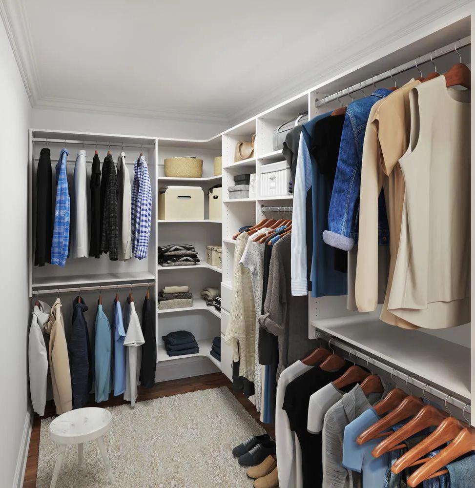 Closet Evolution Ultimate Closet Corner System