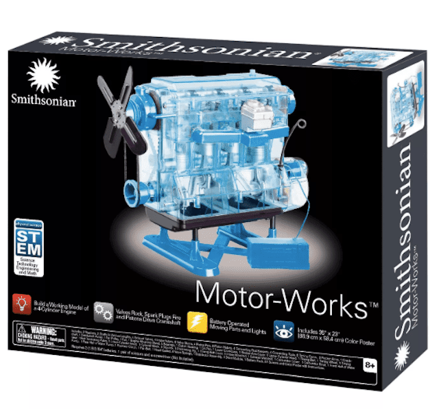 Smithsonian Motor-Works Advanced Science Kit