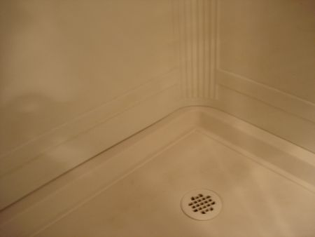 Caulking A Shower Stall Or Tub Surround - Caulking shower pan