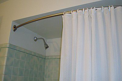 How To Install A Curved Shower Rod