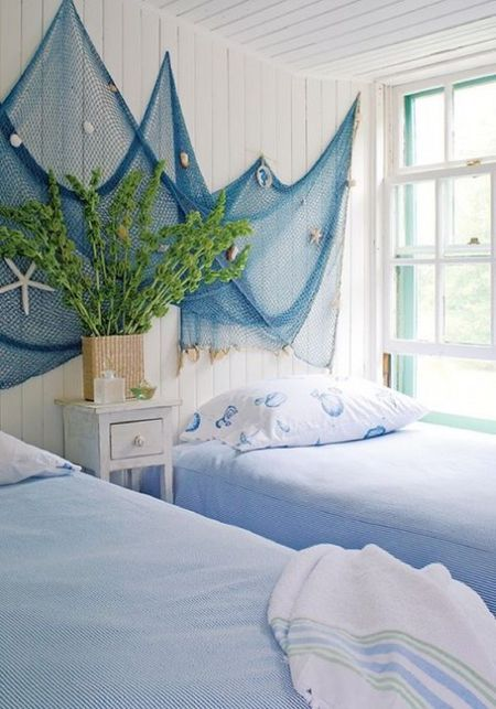 Fishing Nets Decor Ideas