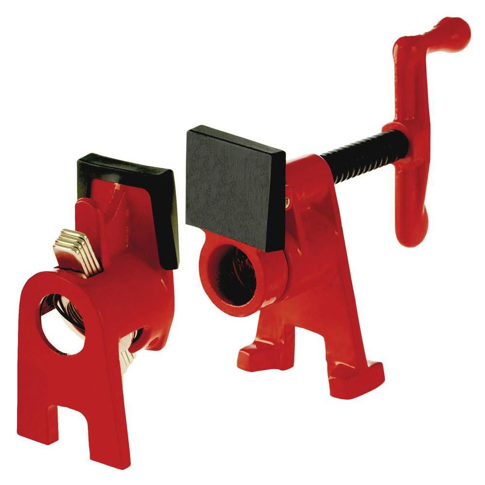 BESSEY H-Style Pipe Clamp Fixture Set