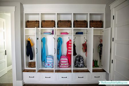 Mudroom Storage Cubbies
