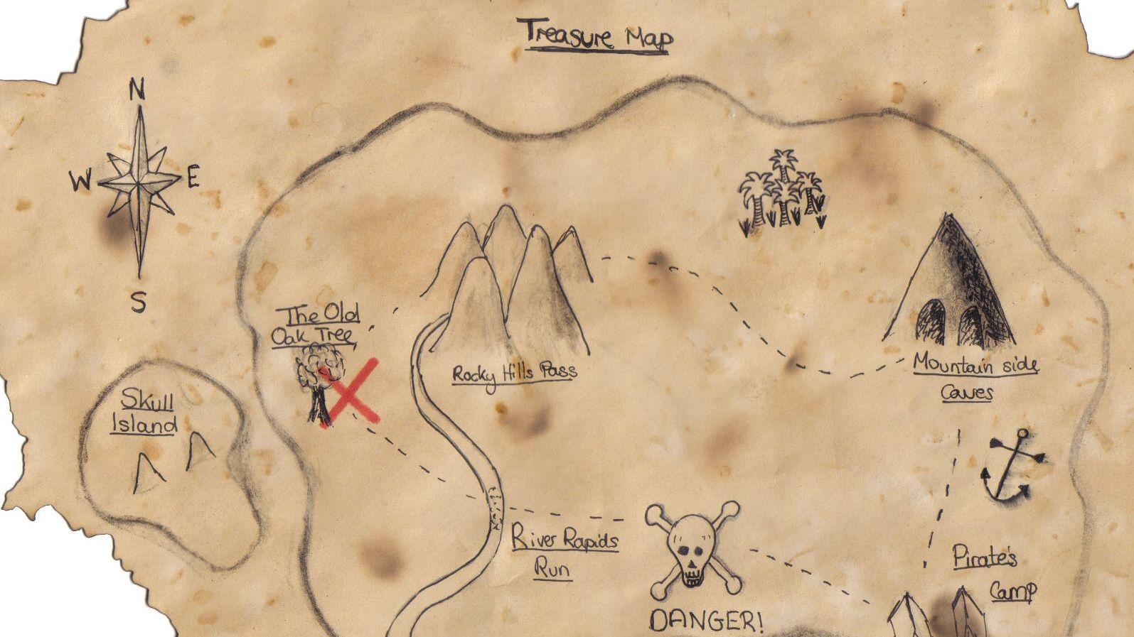 Scavenger Or Treasure Hunts For Kids