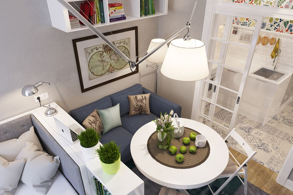 25 Ways To Create A Bedroom In Studio Apartment