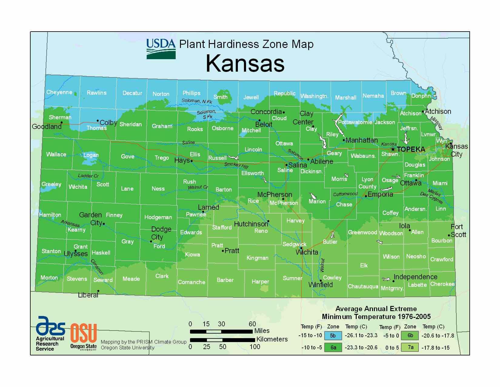Photo of Kansas Hardiness Zones