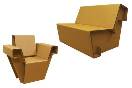 Chairigami Creates Cardboard Furniture For The Urban Nomad