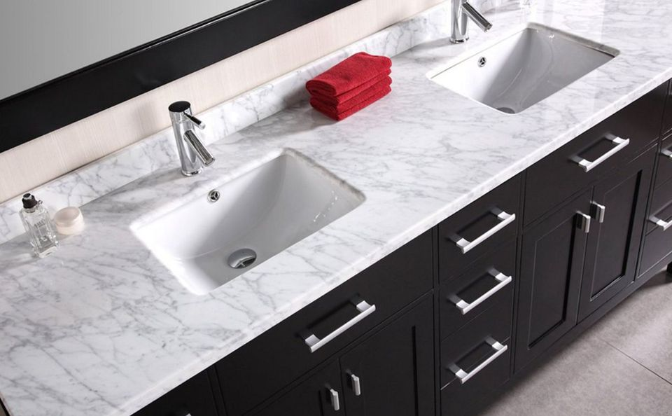Types Of Bathroom Vanity Tops