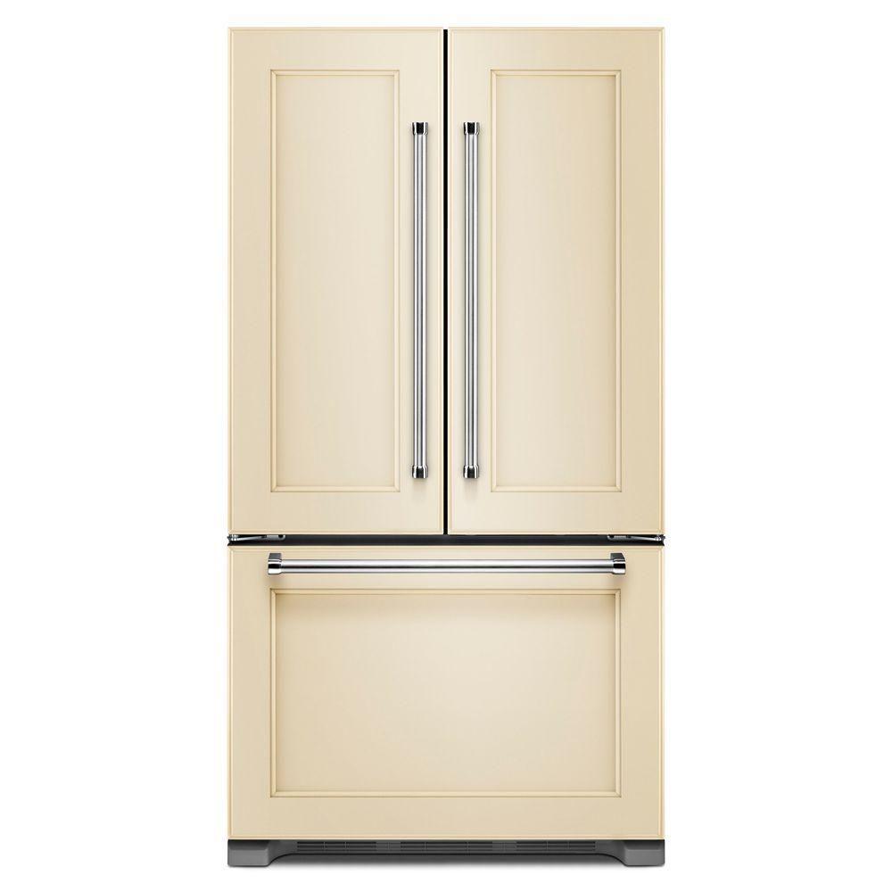 Best Panel Ready Counter Depth Fridge Kitchenaid French Door Refrigerator