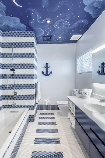 Swell 10 Beautiful Blue Bathrooms Download Free Architecture Designs Xaembritishbridgeorg