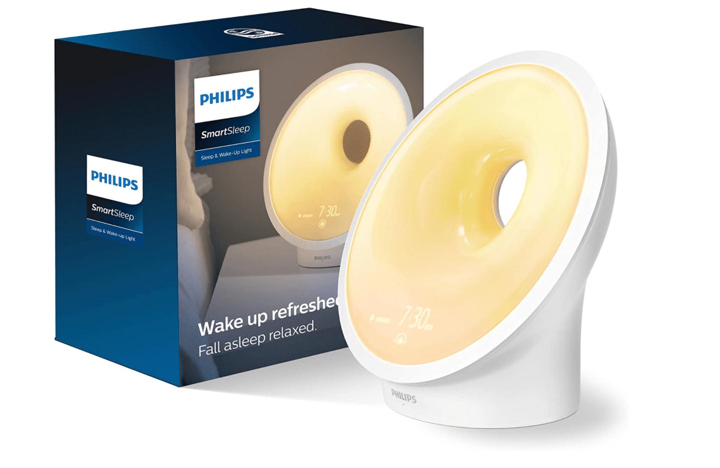 Philips SmartSleep Sleep & Wake-up Light Therapy Lamp