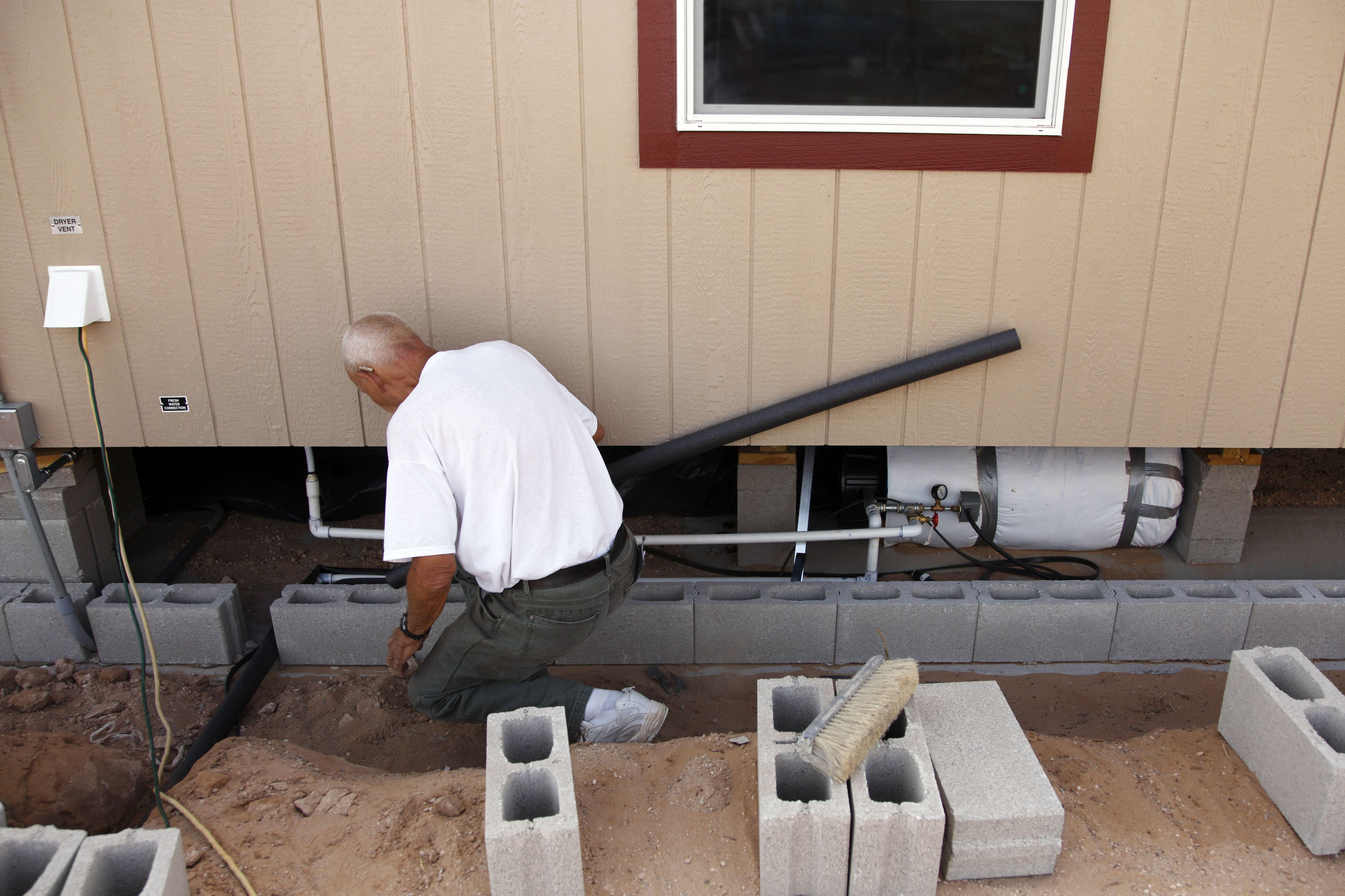 Mobile Home Plumbing on