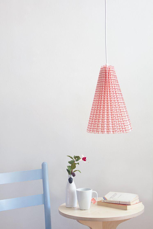 fabric lamp shade DIY