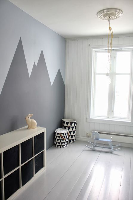 Chalkboard Mountain Mural
