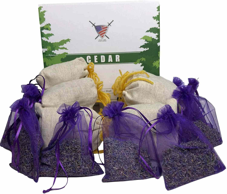 Lavender Sachet and Cedar Bags