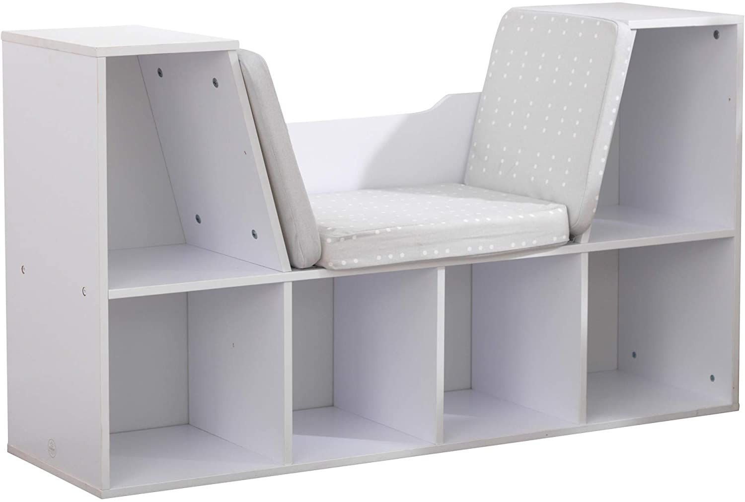 KidKraft Children's Bookcase with Reading Nook and Cushion