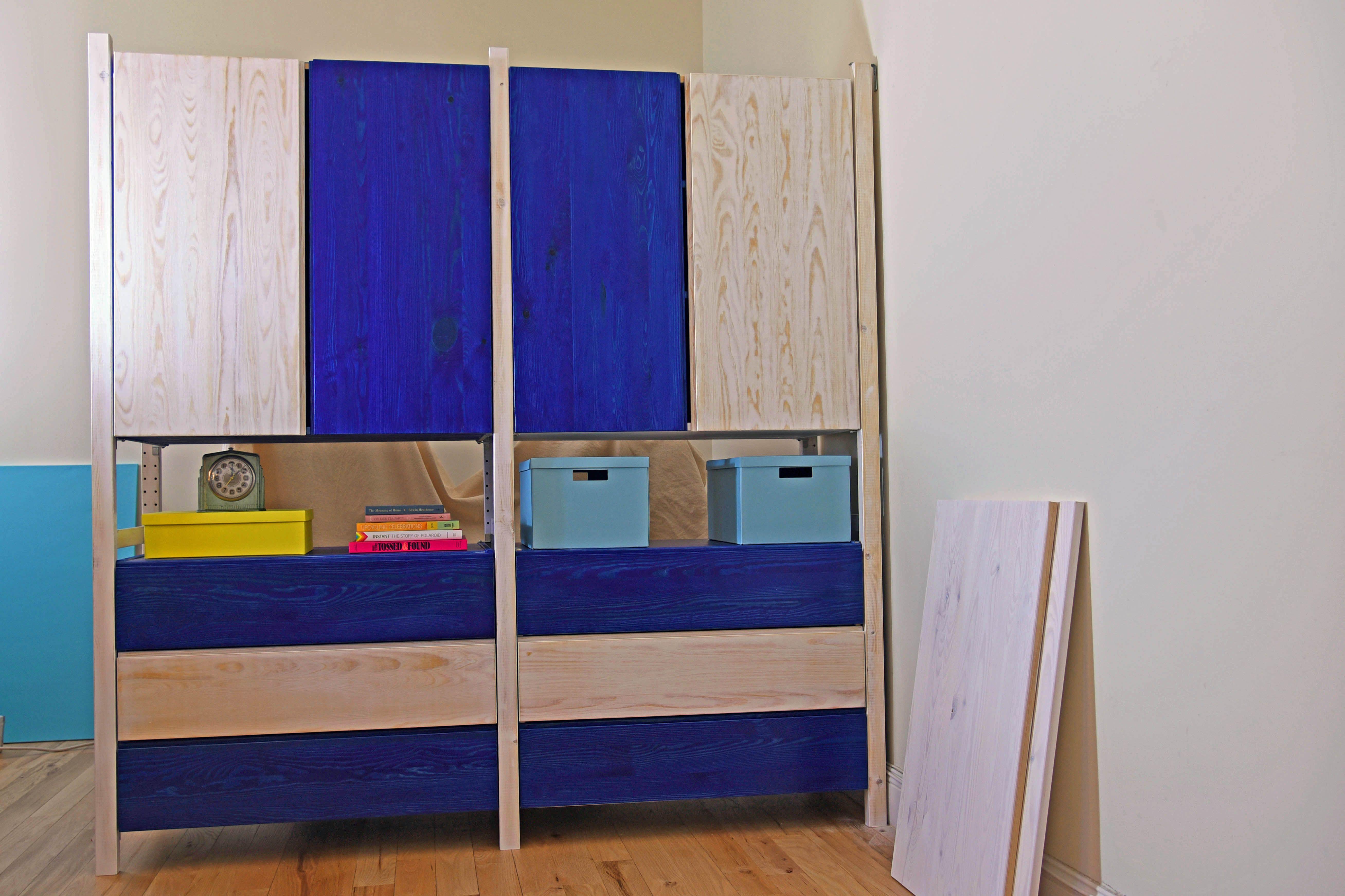 Blue Dye Stain Ikea IVAR