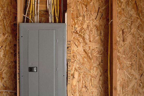 Breaker Box in Construction Site