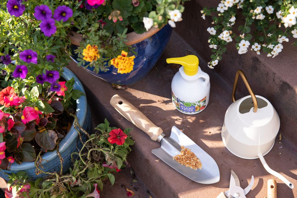 types of fertilizer for flowers
