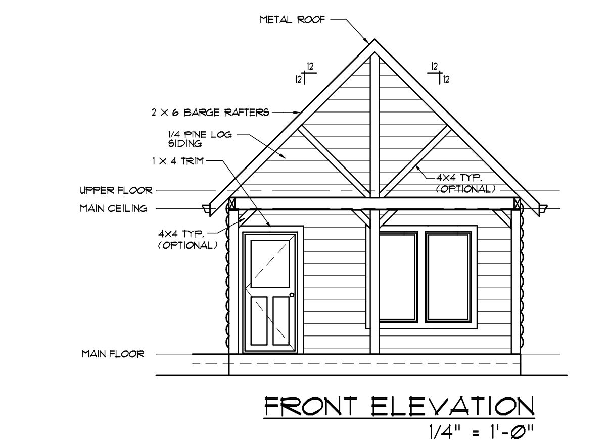7 Free Cabin Plans You Wont Believe Can Diy 2 Story House Electrical Plan A Blueprint Of Finished