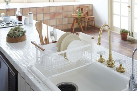 Mini White Tile Countertop