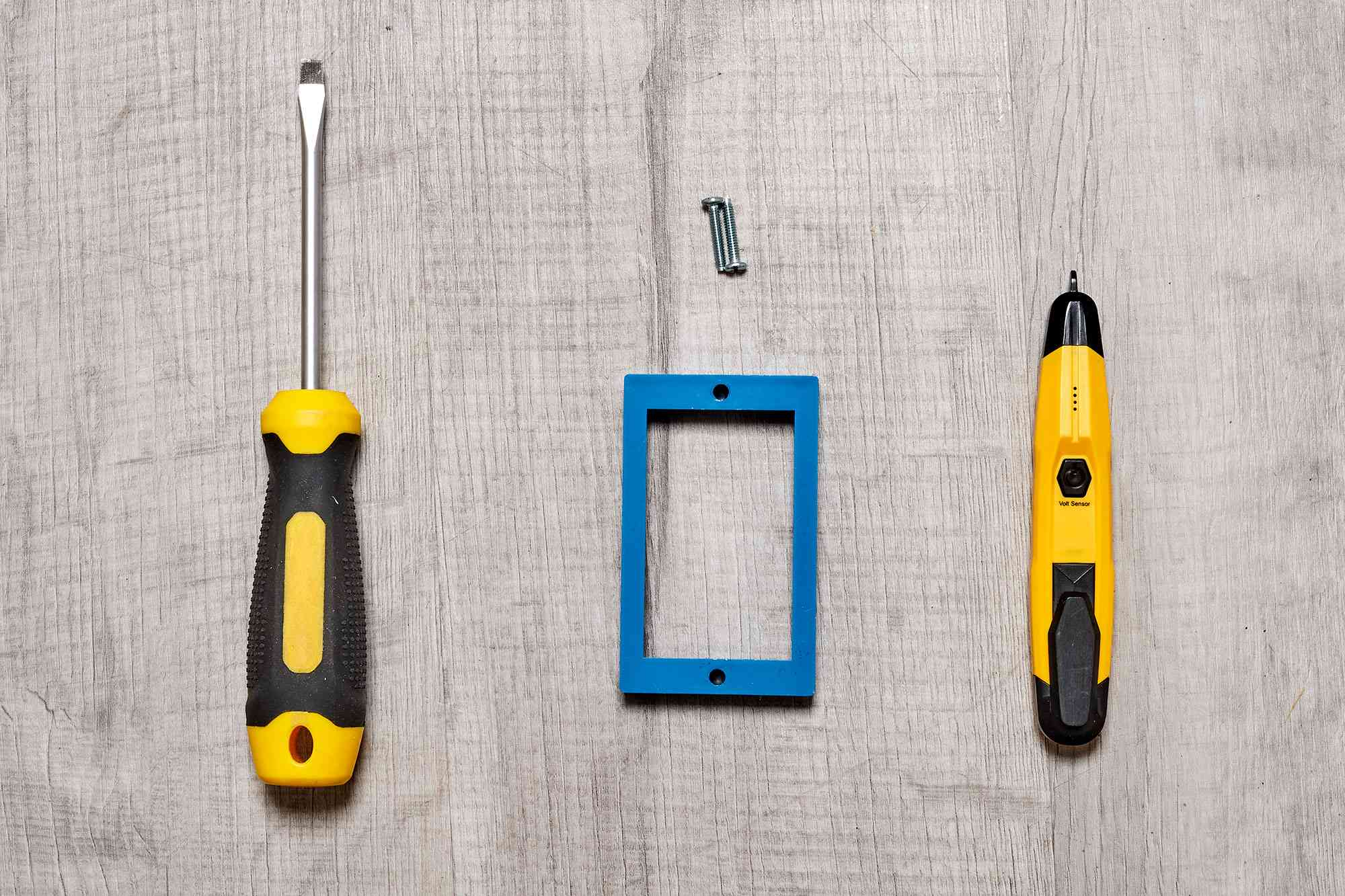 Materials and tools to use an electrical box extender