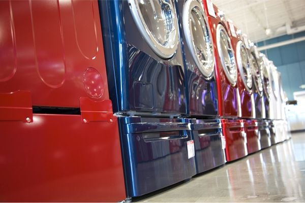 How to paint a washer and dryer