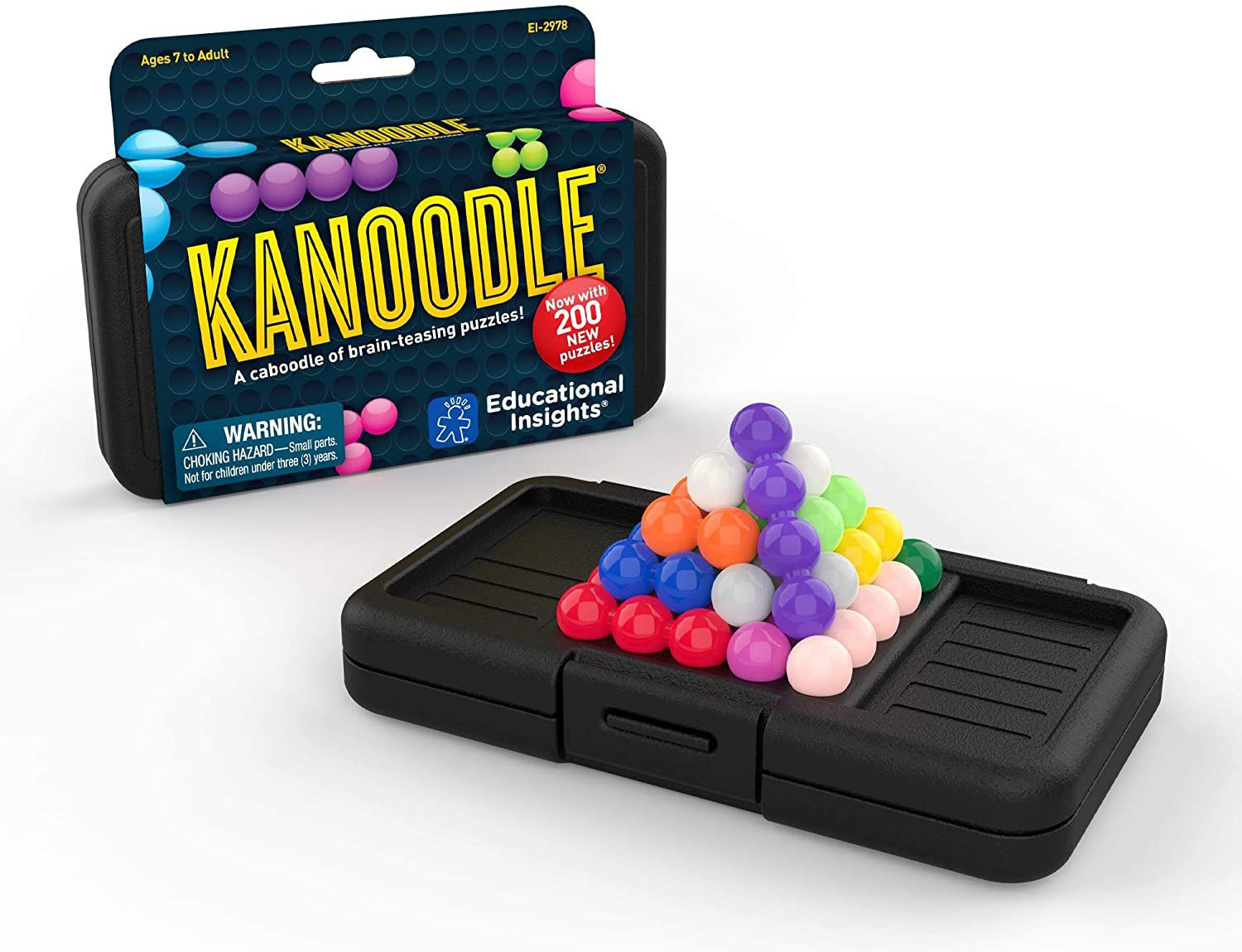 Educational Insights Kanoodle Brain Twisting 3-D Puzzle Game