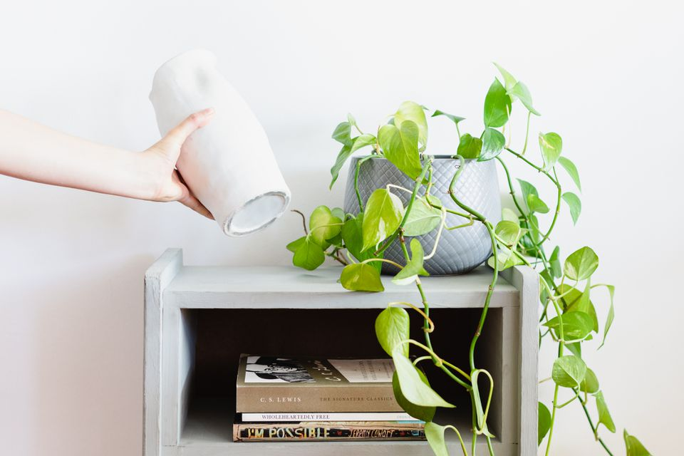 White ceramic lifted off sticky painted shelf